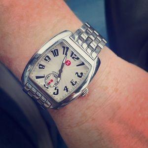 Michele Urban Mini Stainless Steel Bracelet Watch